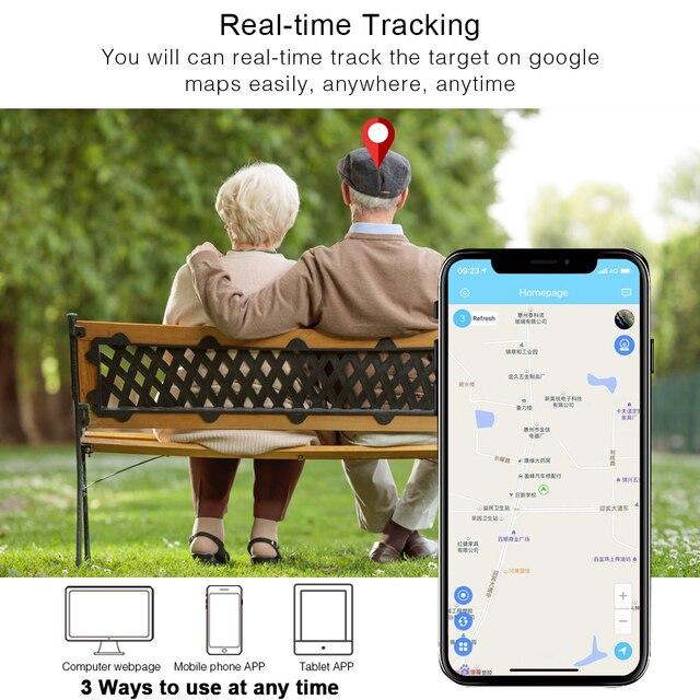 Mini GPS Tracker Children SOS Voice Monitor Geo-fence Pet Tracker 2