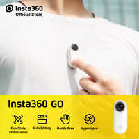 Insta360 GO action camera AI auto editing hands-free smallest stabilized mini camera Vlog making for iPhone and Android