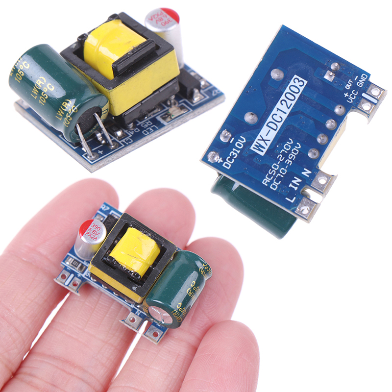 1/2/5PCS Mini AC-DC 110V 120V 220V 230V To 5V 12V Converter Board Module Power Supply Wholesale-0