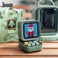 Divoom Ditoo Retro Pixel art Bluetooth Portable Speaker Alarm Clock DIY LED Screen By APP Electronic Gadget gift Home decoration