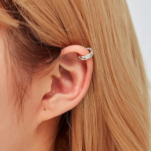 LETAPI Simple Ear Cuffs for Women Gold Leaf Cuff Clip Earrings Earcuff No Piercing Fake Cartilage Earring