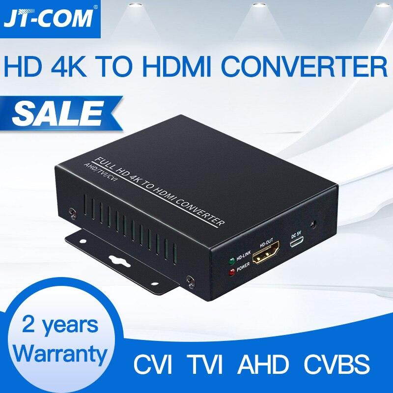 Full HD SUpport Auto Recognition 4K 8MP 5MP 4MP 3MP 1080P AHD CVI TVI CVBS To HDMI Converter For CCTV Camera Video Convert