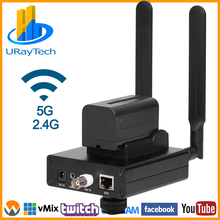 Wireless H.264 Analog SD Video CVBS RCA AV To IP Streaming Encoder BNC To IP