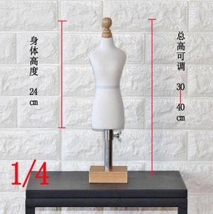 1/4 FEMALE woman body mannequin sewing for female clothes,busto dresses form stand1:4 scale Jersey bust can pin 1pc C760