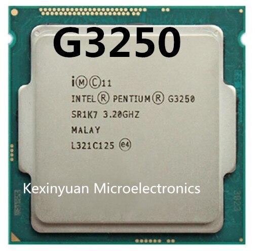 For Original Pentium Processor G3250(3M Cache,3.20 GHz),Dual-core LGA1150 G3250 Desktop CPU,G3250 CPU,g3250 Cpu 53W