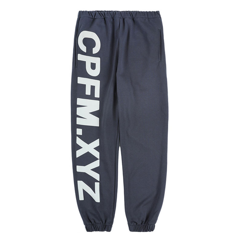 2020 New Season Kanye West CPFM.XYZ 3M Reflective Sweatpants Men Women Cotton Joggers Hiphop Men Sweatpants Casual Trousers