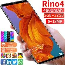 4G LTE RION4 Smartphone 4800mAh w 2GB pamięci RAM i 32GB ROM wersja globalna Face ID odblokowany z systemem Android 10.0 telefon Celulares WIFI Dual Sim