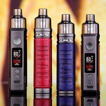 VOOPOO – Kit de cigarettes électroniques de 80W et 60 W, bobine originale avec cartouches Drag X Drag, GENE.TT, de 4,5 ml, et puce PnP-VM1, VM5 et VM6