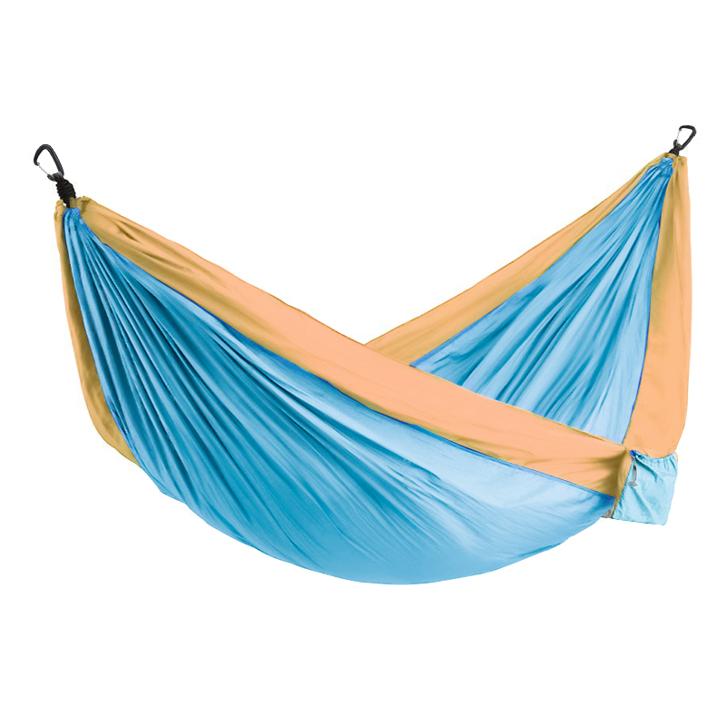 Multi Color 2 People Portable Parachute Hammock Camping Survival Garden Flyknit Hunting Leisure Hamac Travel Double Person Hamak
