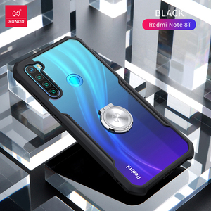 Image 5 - Xundd Case For Redmi Note 8T Case Shookproof Airbag Anti drop Cover Soft Fitted Transparent Case For Xiaomi Redmi Note 8T Cover