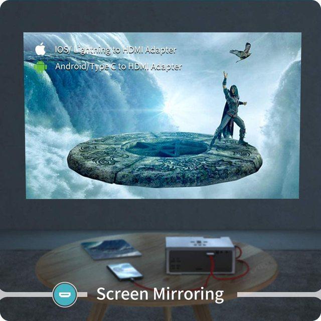 VANKYO Leisure 410XX Mini Projector 1080P 200 5