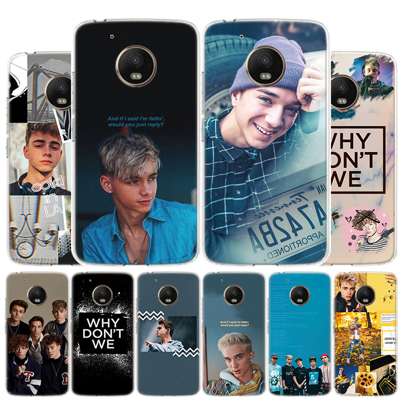 Daniel Seavey Why Dont We Aesthetics Phone Case For Motorola Moto G8 G7 G6 G5S G5 G4 E6 E5 E4 Plus Play Power One Action X4 Cove