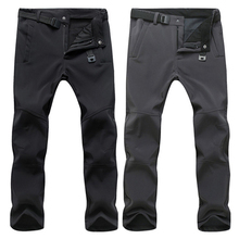 Мужские брюки TRVLWEGO, теплые зимние штаны с мягкой подкладкой, водонепроницаемые, для путешествий, кемпинга и походов, ветрозащитные флисовые...
