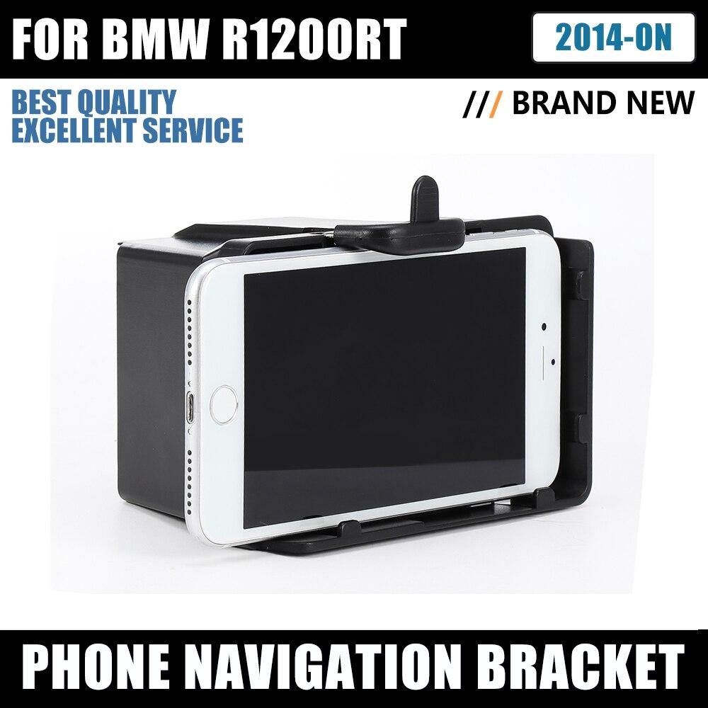 Support de Navigation de téléphone pour BMW R 1200 RT pièces de moto support pour téléphone USB support de montage de charge pour BMW R1200RT 2014-2019