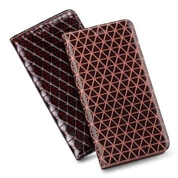 Xiaomi 3 4C 4S 5C 5S 5X Geometric Patterns Leather Phone Case For Xiaomi 6X Plus 8se 9se 10 Lite Pro Business Holster