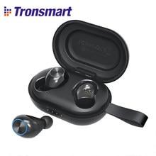 Tronsmart – écouteurs sans fil Bluetooth 5.0, oreillettes Spunky Beat TWS APTX avec QualcommChip CVC 8.0, commande tactile, Assistant vocal