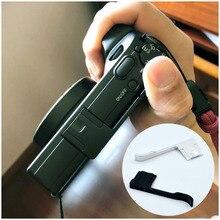 Suporte para câmera de descanso de polegar, suporte de metal para câmera ricoh gr3 g iii, acessórios de câmera, cnc, alumínio