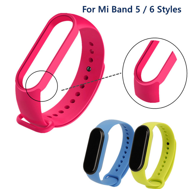 Bracelet for Xiaomi Mi Band 6 5 4 3 Sport Strap watch Silicone wrist strap For xiaomi mi band 3 4 5 bracelet Miband 4 3 5 Strap 2