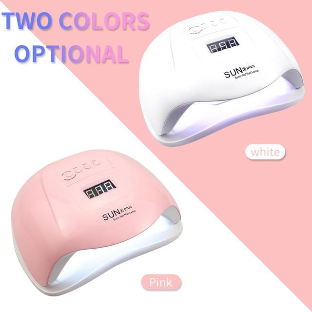 120W Nail Lamp LED Nail Dryer For Manicure 36 Pcs Light Bead UV Lamp LCD Display Drying All Gels Nail Polish Nail Art Tools 3