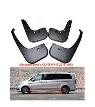 For Mercedes Benz V-Class W447 Vito Viano 2016-2019 car Fenders Mudguards mud flaps Auto Accessories