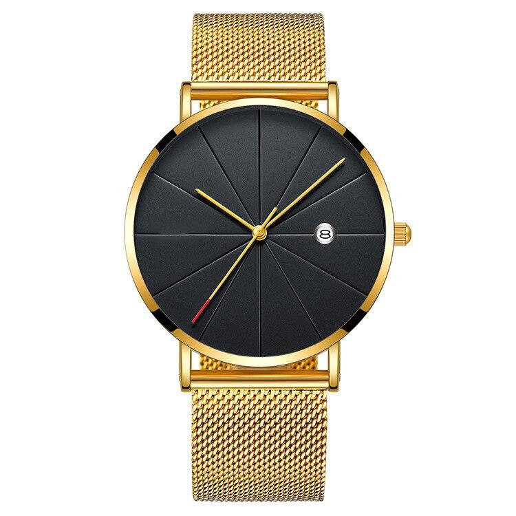 H785c730267b64c1b8d7c8585bb86a01at Men's Watch Luxury Ultra-thin Watch