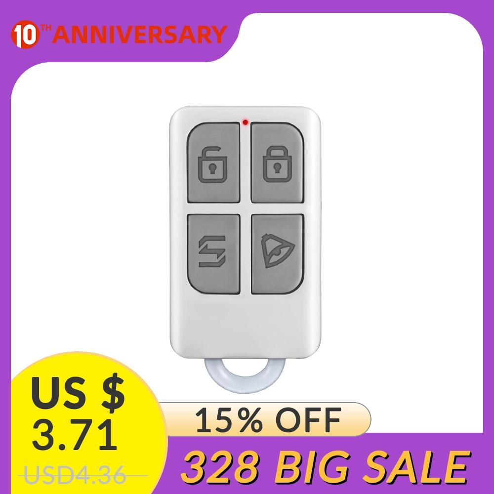 Wireless Remote Control Arm/disarm Detector  Touch Keypad Panel GSM PSTN Home Security Burglar Alarm System