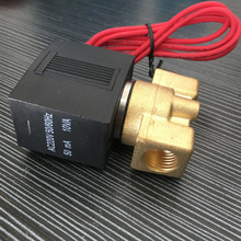 DN8 1/2 DC12V 24V AC110V 220V Electric Normally Close Wire Lead SMC Type Gas Solenoid Valve Pneumatic Valve For Water Oil Air sy7220 5gd 02 quality pneumatic components smc solenoid valve