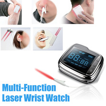 Diabetes Medical Device Laser Therapy Watch Laser Therapeutic High Blood Pressure Therapy Clean Blood Trash Improved Blood Flow high blood pressure diabetes cholesterol rhinitis treatment cerebral thrombosis medical device laser therapy wrist watch