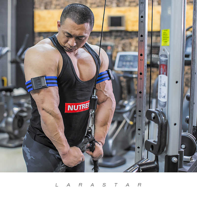 Training Bands Bodybuilding Weight Blood Flow Restriction Fitness Gym Equipment
