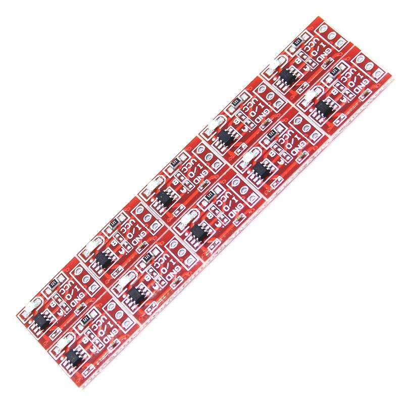 10 шт. TTP223 сенсорный кнопочный модуль самоблокирующийся/без блокировки Емкостный переключатель одноканальный модифицирует датчик