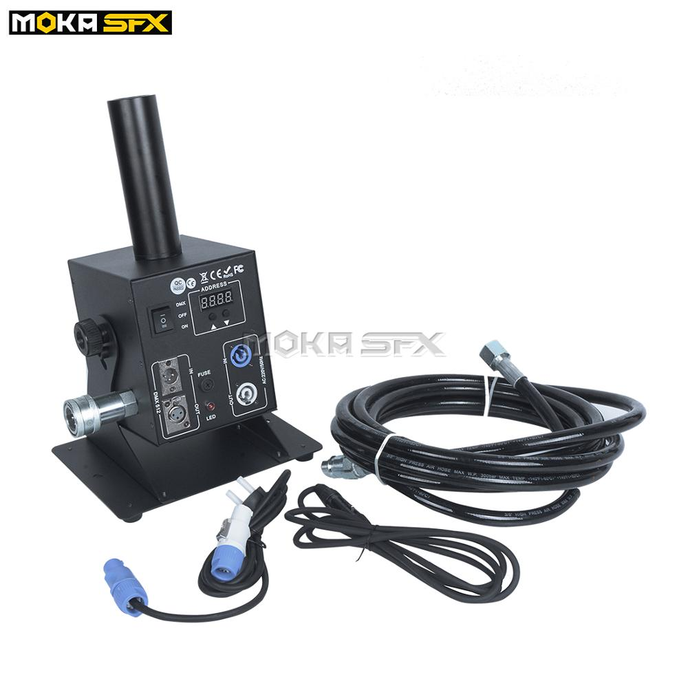 Moka Dry Ice Fog Machine Co2 Jet Spray Machine Dmx Fog Machine Adjustable Angle Co2 Gas Machine