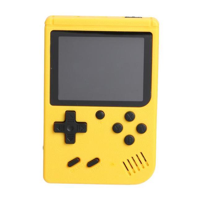 ポータブルミニビデオゲームプレーヤー8 ビット内蔵400クラシックゲーム3.0インチtftレトロポケットゲームコンソール