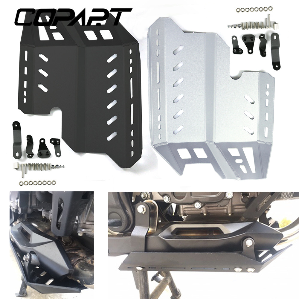 For Honda <font><b>CB500X</b></font> <font><b>2019</b></font> 2020 CB500 X Motorcycle CNC Aluminum Skid Plate Foot Rests Bash Frame Engine Guard Cover Chassis Protector image