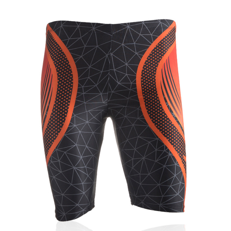 Profession Sports Quick-Dry Short MEN'S Swimming Trunks Fashion Man Digital Printing Seaside-Style Swimming Suit Wholesale