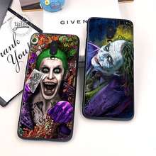 Coque For Oneplus 6T Case Cover Black Soft Silicone Funny clown for Funda 7 Phone Cases 1+6T 1+7