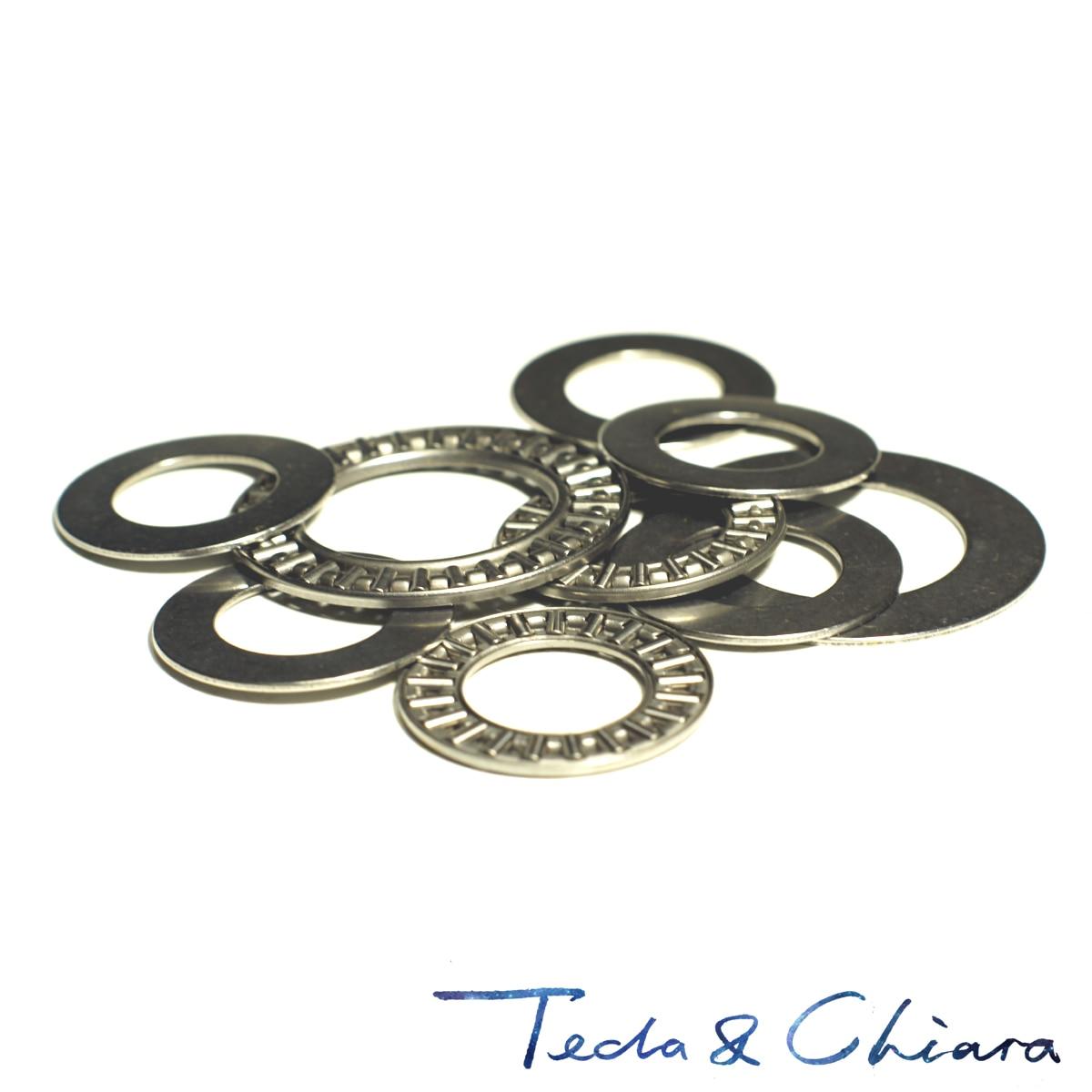 1Pc / 1Piece AXK2035 20 X 35 X 4 Mm & 2AS Thrust Needle Roller Bearing Washers High Quality * AXK