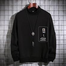Men Long Sleeve Pullover Letter Printed Sweatshirt Streetwear Harajuku Xxxtentacion Sweatshirts 3D Hoodies