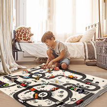 Highway-Map Educational-Toys City-Scene Taffic Kids Children Car-Park for Baby Playmat