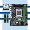 HUANANZHI X79 материнская плата Процессор памяти набор X79 LGA2011 Материнская плата Intel Xeon E5 2620 V2 RAM 2*8G DDR3 REG ECC