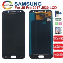 Super AMOLED J530 wyświetlacz LCD do Samsung Galaxy J5 2017 J5 Pro J530F J530FN SM-J530F DS wyświetlacz ekran dotykowy Digitizer zgromadzenie tanie tanio NONE CN (pochodzenie) Ekran pojemnościowy 1280x720 3 Galaxy J5 2017 J5 Pro LCD Display J530 J530F J530M SM-J530F LCD i ekran dotykowy Digitizer