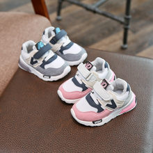 Children Sport Shoes New Spring Autumn Net Air Mesh Breathable Fashion Kids Boys Shoes Anti-Slippery Girl Sneakers Toddler Shoes(China)