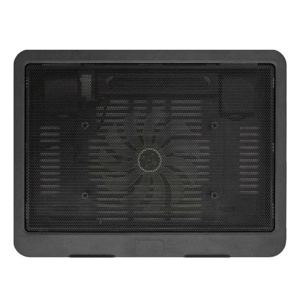 Черный ультра тонкий ноутбук охлаждающая подставка Регулируемая подставка ноутбук вентиляционный вентилятор USB компьютер кронштейн для охлаждения
