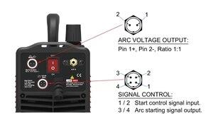 Image 4 - IGBT Non HF Pilot Arc CUT55i Digital Control CNC Plasma Cutter Dual Voltage 120/240V, IPTM80 CNC Straight Torch