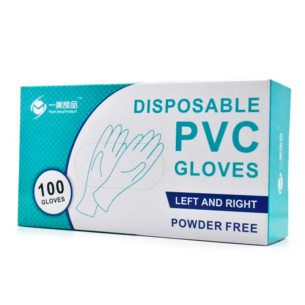 100/200 Pcs Disposable PVC Gloves Latex For Home Cleaning Medical/Food/Rubber/Garden Gloves Universal For Left And Right Hand