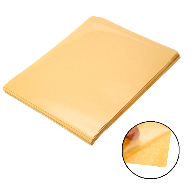 100 Sheets/Lot A4 PVC Adhesive Transparent Clear Sticker For Laser Printer Lamination Film Strong Adhesive Vinyl Sticker