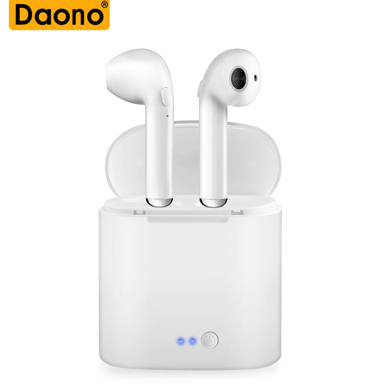 JBM I7 TWS I7s Mini Wireless Bluetooth Earphone In-Ear Earbud Headset With Charging Box Mic For All Smart Phone