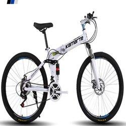 Amortyzacja Shift składany rower górski rower ze stopu aluminium 26 Cal podwójny hamulec tarczowy