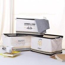 Grande Cesto de roupa Suja Dobrável À Prova D Água Vestir Escritório caixa armazenamento Brinquedo cesta armazename