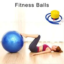 Yoga-Balls Massages Exercise Balance Fitball Air-Pump Fitness Point Pilates Sports 65cm