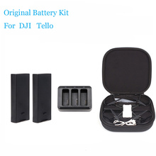 DJI Tello комплект батарей и зарядки Hub1100 мАч 3,8 в Tello мини-Дрон чехол сумка батарея аксессуары